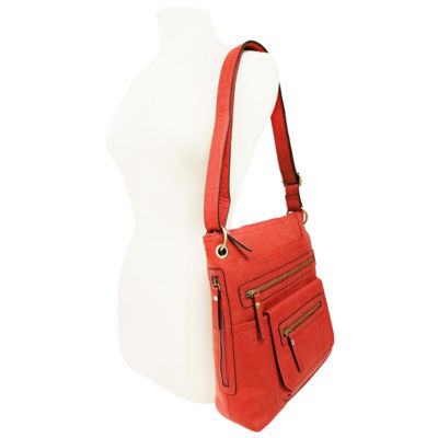 St. John's Bay Double Zip Crossbody Bag