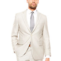 JF J.Ferrar Men's Classic Fit Suit Jacket (Bone Shimmer)