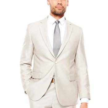 JF J.Ferrar Men's Classic Fit Suit Jacket