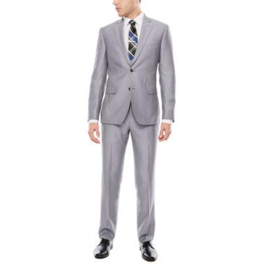 jcpenney.com | JF J. Ferrar Gray Pindot Suit Separtes- Slim Fit