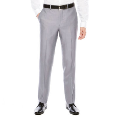 Men's J.Ferrar Woven Flat-Front Slim Fit Suit Pants