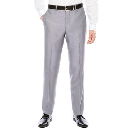 Men's J.Ferrar Woven Flat-Front Slim Fit Suit Pants