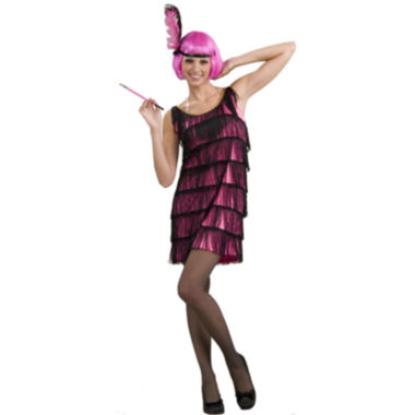 Buyseasons 20's Pink Flapper Adult Costume