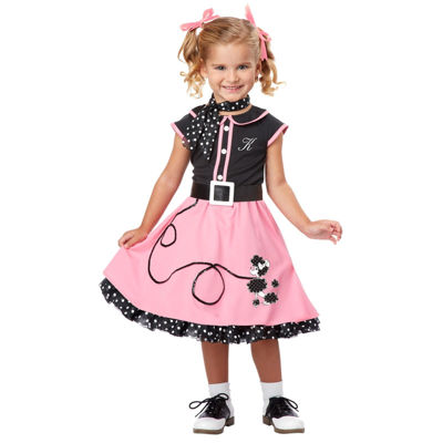 Buyseasons 50's Poodle Cutie Toddler / Child Costume
