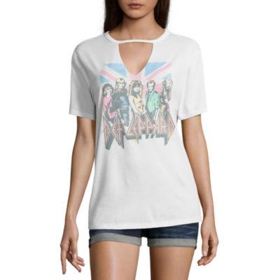 Def Leppard Graphic T-Shirt- Juniors