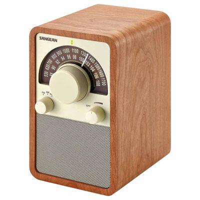 Sangean WR-15WL AM/FM Wooden Cabinet Receiver / Tabletop Radio