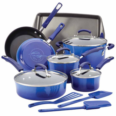 Rachael Ray® 14-pc. Aluminum Cookware Set