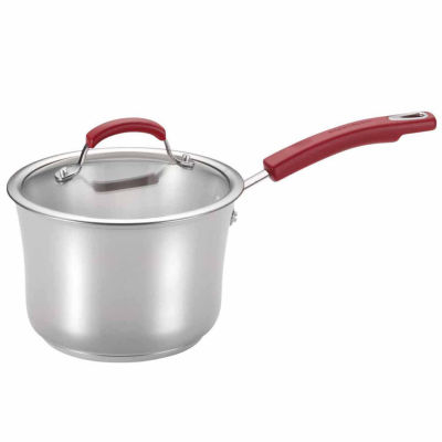 Rachael Ray 3-qt. Stainless Steel Sauce Pan
