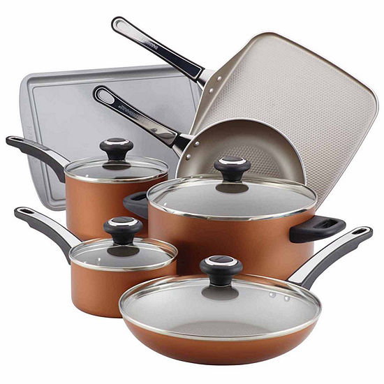 Farberware High Performance 17-pc. Nonstick Aluminum Cookware Set