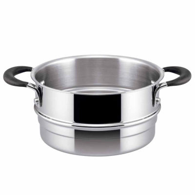 Circulon 3-pc. Stainless Steel Steamer Insert