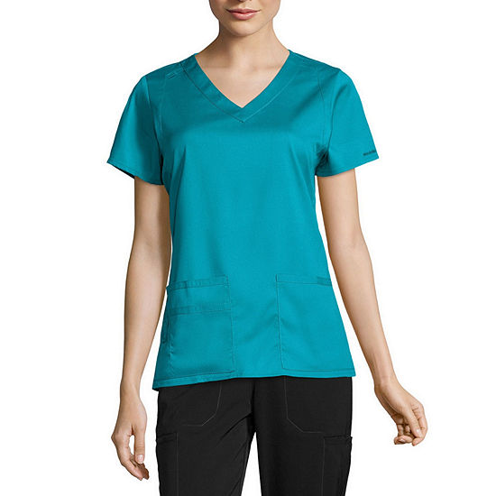 WonderWink® Next 6119 Charlotte V-Neck Top