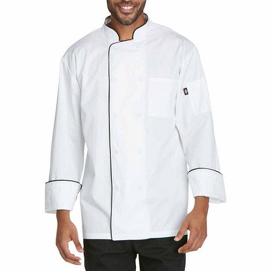 Dickies Unisex Long Sleeve Chef Coat Big