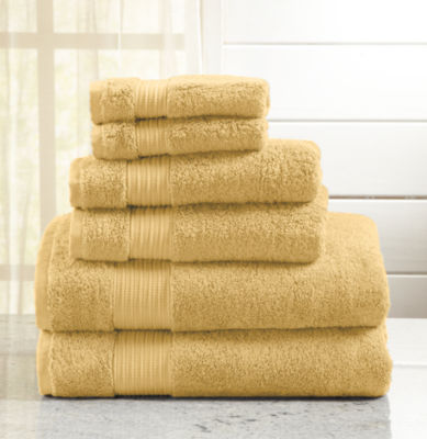 Grace Collection 6 Piece Turkish Towel Set