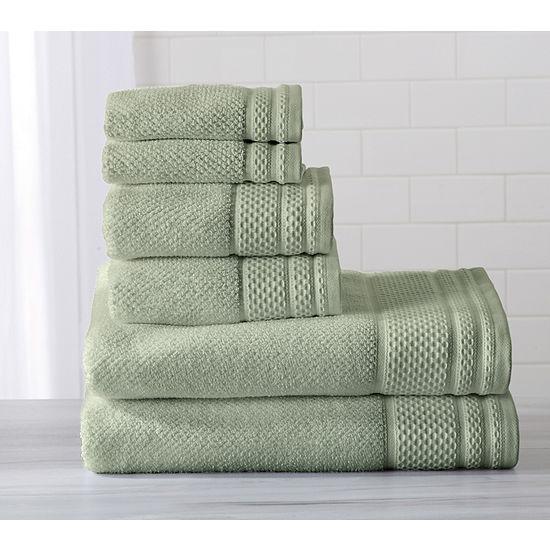 Helena Collection 6 Piece Turkish Towel Set