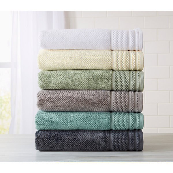 Helena Collection 6 Piece Turkish Towel Set