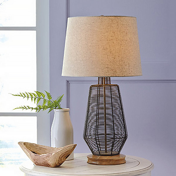 Signature design by ashley artie metal table lamp jcpenney signature design by ashley artie metal table lamp aloadofball Gallery
