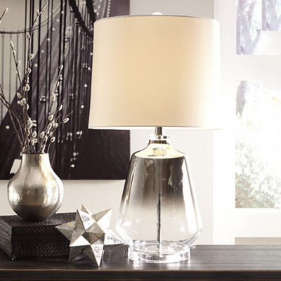 Signature Design by Ashley® Jaslyn Glass Table Lamp