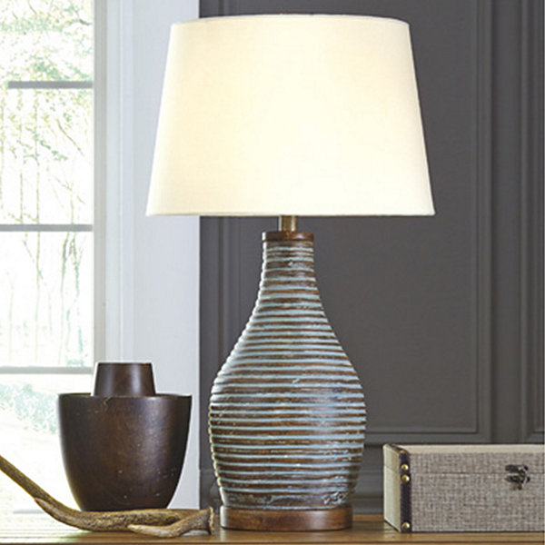 Signature Design by Ashley® Jehan Terracotta Table Lamp