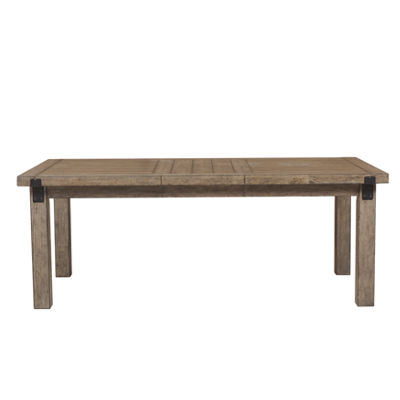 Montserrat Wood-Top Dining Table
