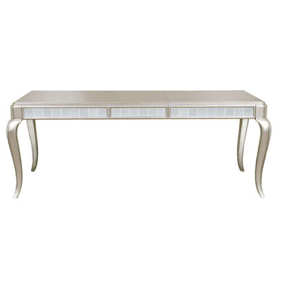 Weston Wood-Top Dining Table