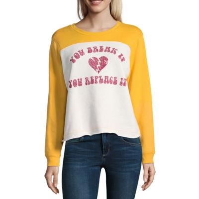 Long Sleeve Sweatshirt-Juniors