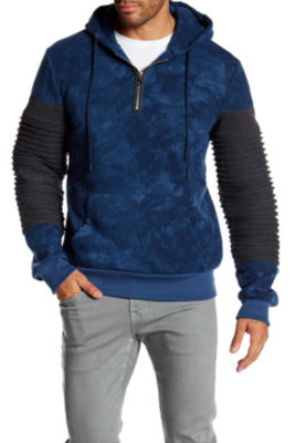 TR Premium Mens Fashion Fleece Tie Dye Hoodie