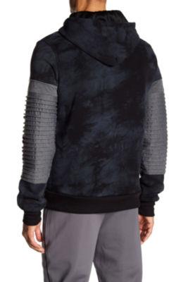 TR Premium Mens Fashion Fleece Tie Dye Hoodie