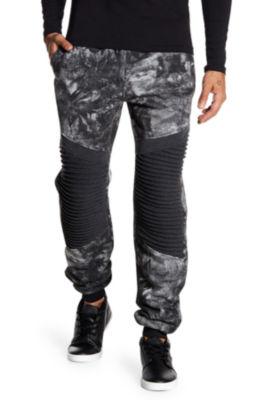 TR Premium Mens Tie Dye Fashion Fleece Joggers
