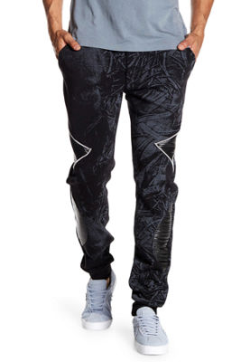 TR Premium Mens Abstract Fashion Fleece Joggers