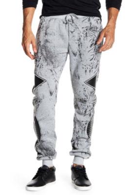TR Premium Mens Abstract Fashion Fleece Joggers