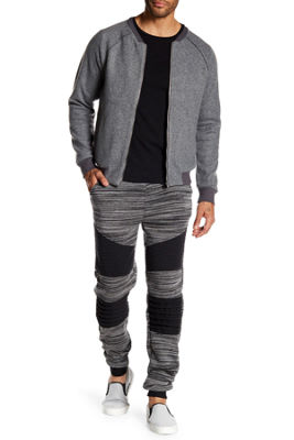 TR Premium Mens Stripe Fashion Fleece Joggers