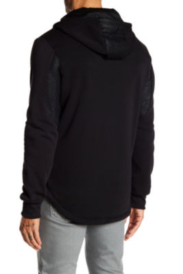 TR Premium Mens Fashion Fleece Medallion Hoodie