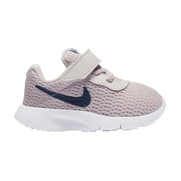 Nike Tanjun Girls Running Shoes White fS3212B