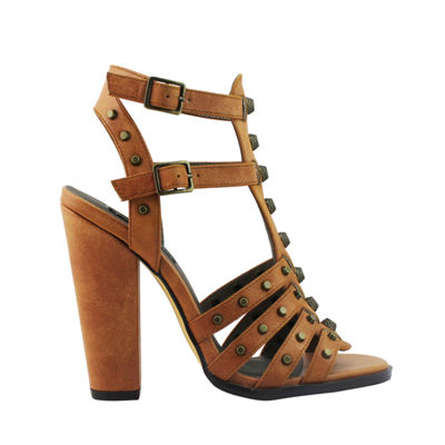Michael Antonio Womens Jena Heeled Sandals