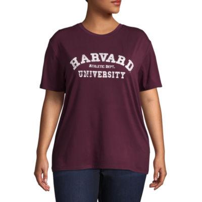 Super Soft Harvard Tee - Juniors Plus