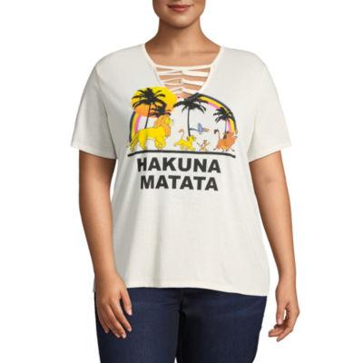 "Lion King ""Hakuna Matata"" Tee - Juniors Plus"