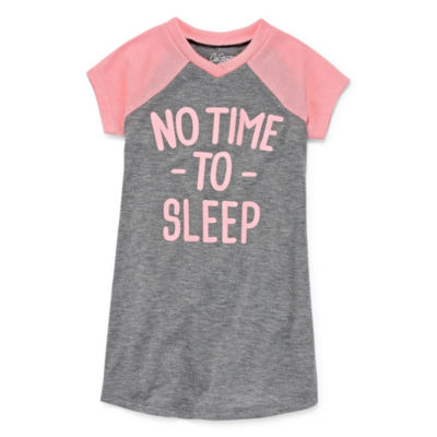 City Streets Short Sleeve Nightshirt-Toddler Girls