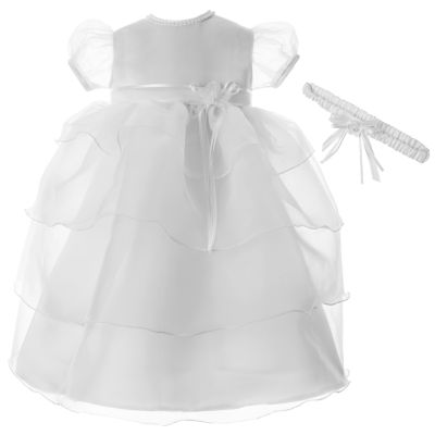 Keepsake Short Sleeve Puffed Sleeve Babydoll Dress - Baby Girls