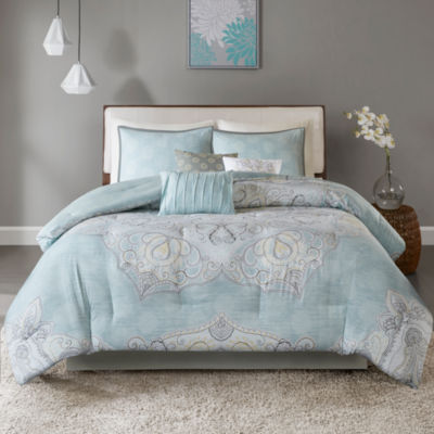 Madison Park Joanna 7-pc. Reversible Cotton Comforter Set