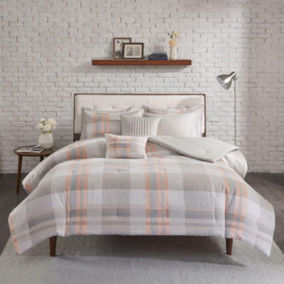 Madison Park Miller Cotton Printed Comforter Set
