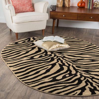 Tayse Elegance Zara Oval Area Rug