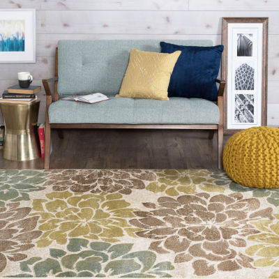 Tayse Deco Molly Rectangular Indoor Rugs