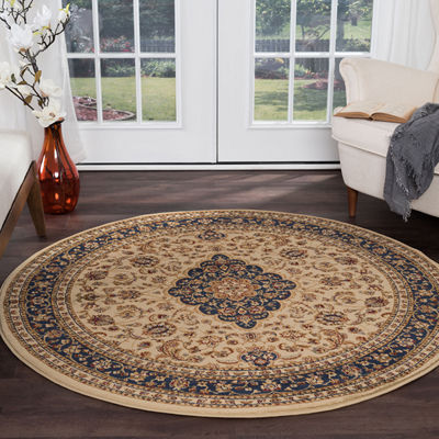 Tayse Sensation Kirsten Round Indoor Area Rug