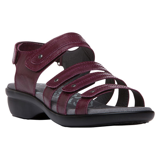 Propet Womens Aurora Wedge Sandals