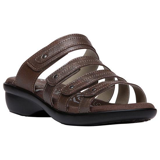 Propet Womens Aurora Slide Sandals
