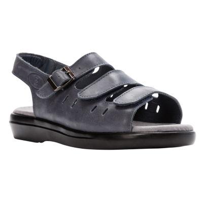Propet® Breeze Womens Walker Leather Sandals