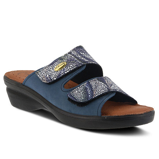 Flexus Womens Kina Flat Sandals