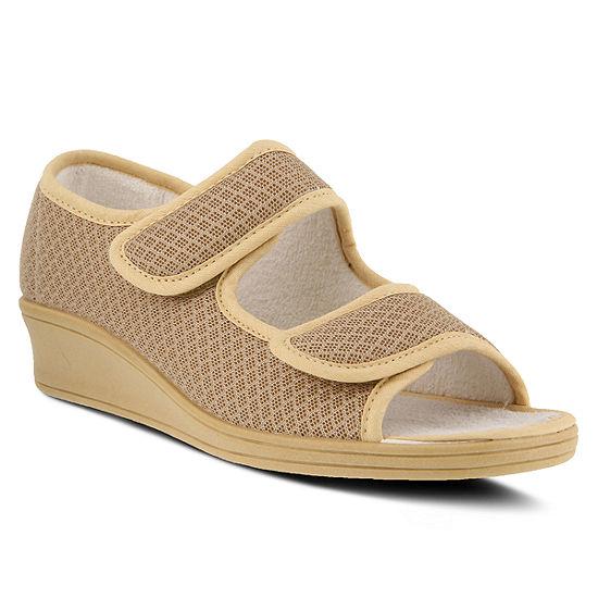 Flexus Womens Loren Flat Sandals