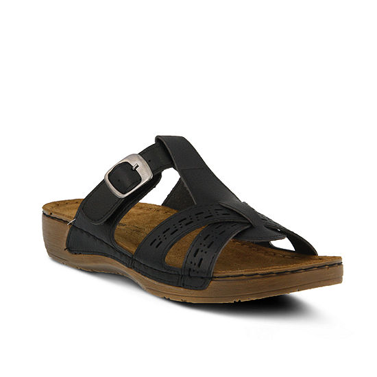 Flexus Womens Nery Flat Sandals