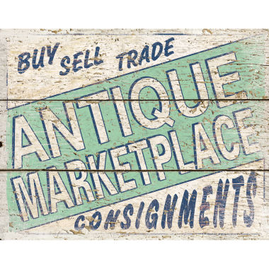 Antique Marketplace 4 Canvas Art